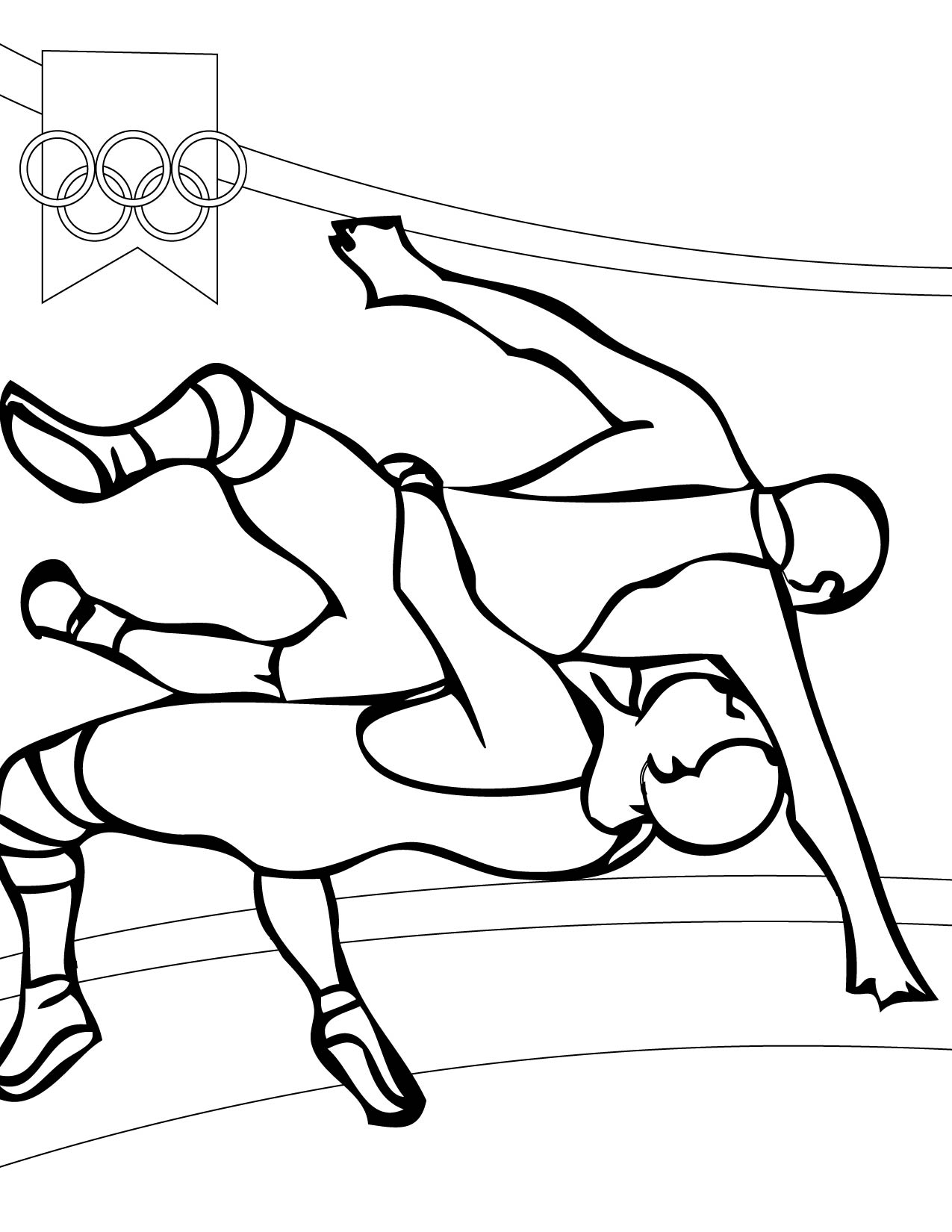Amateur Wrestling Clipart Gallery