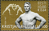 Stamp from Estonia