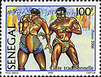 Stamp from Senegal